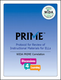 WIDA Prime Correlation for Discussions4Learning